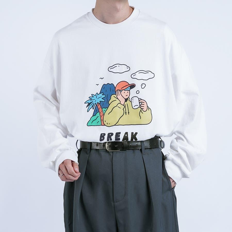 【kutir】サトウリョウタロウ コラボロングTシャツ 16