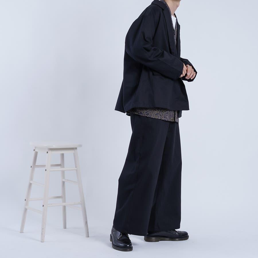 【kutir】ヘリンボンウルトラワイドパンツ 5