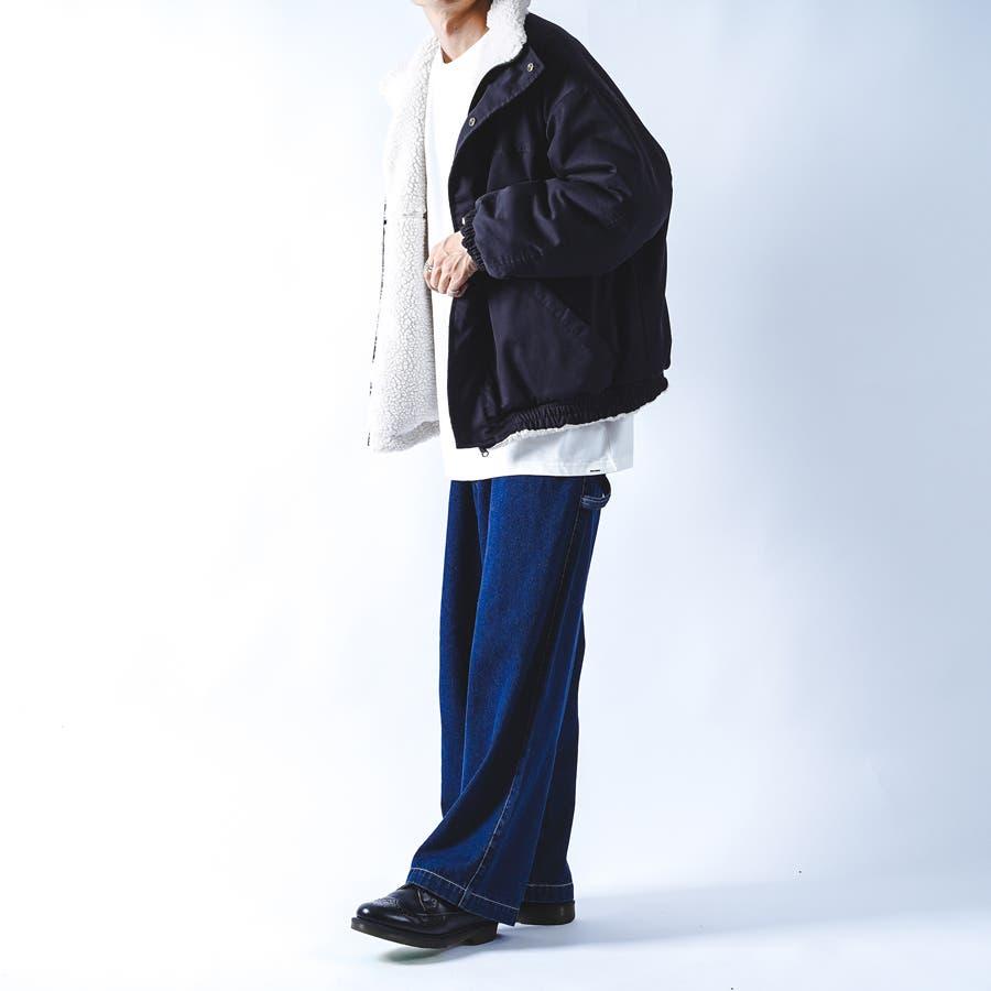 【kutir】リバーシブルボアブルゾン 3