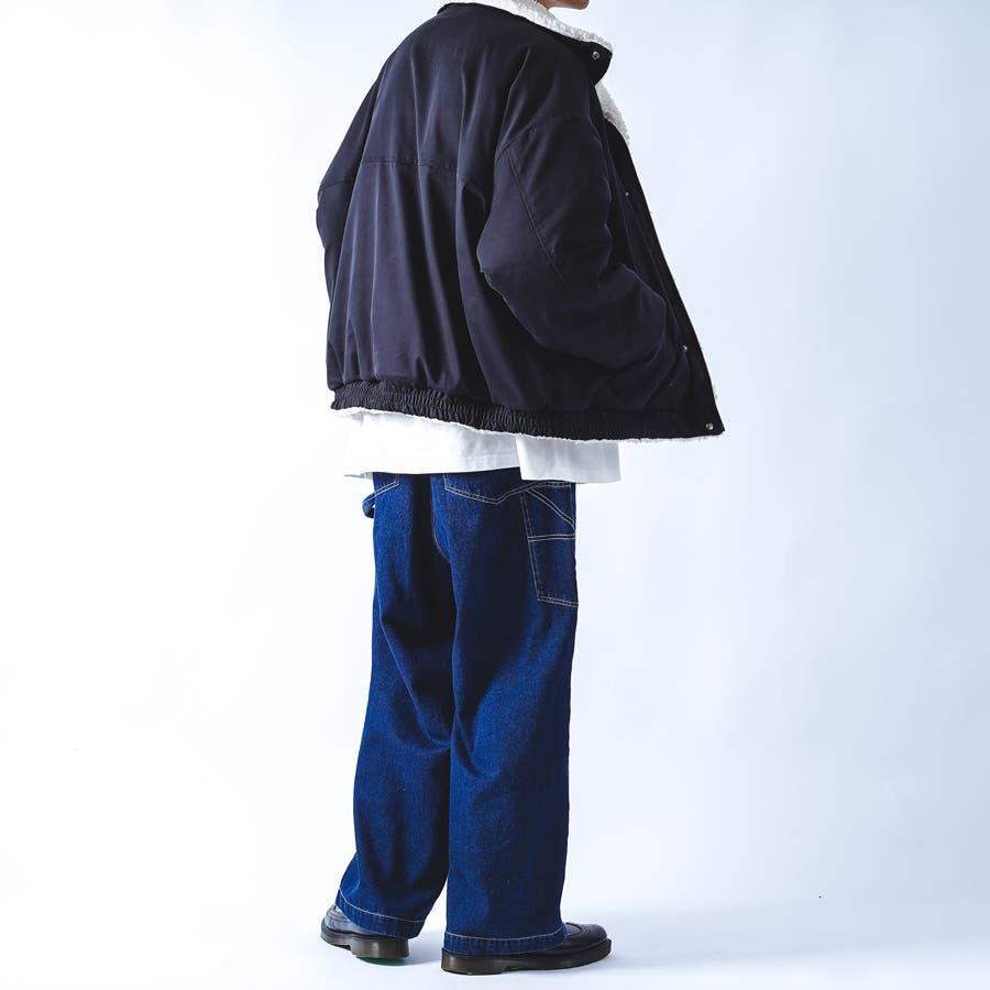 【kutir】リバーシブルボアブルゾン 4