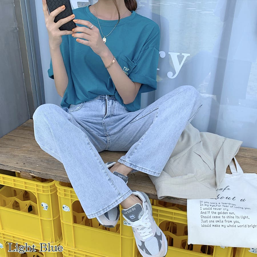 【girlydoll】ダメージストレートデニム【2020春夏商品】 9