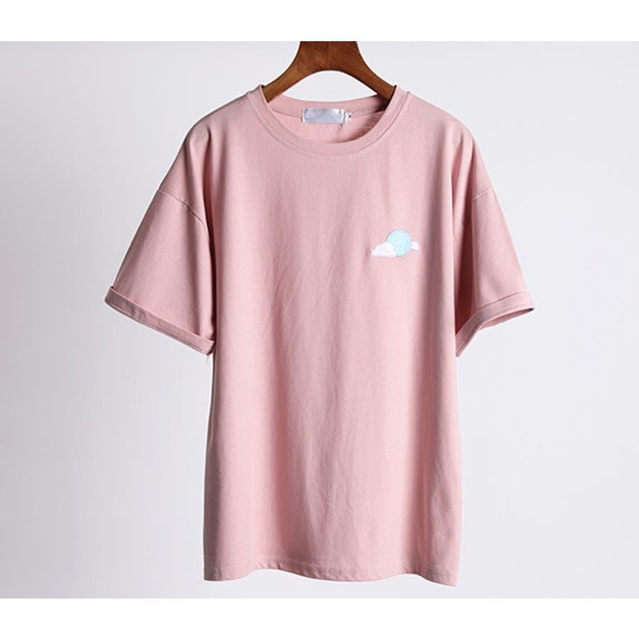 【girlydoll】ワッペンTシャツ【2020春夏商品】 7