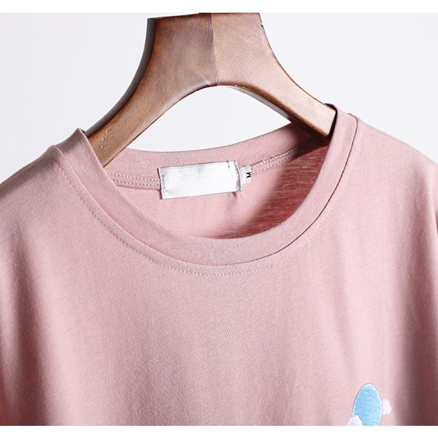 【girlydoll】ワッペンTシャツ【2020春夏商品】 8