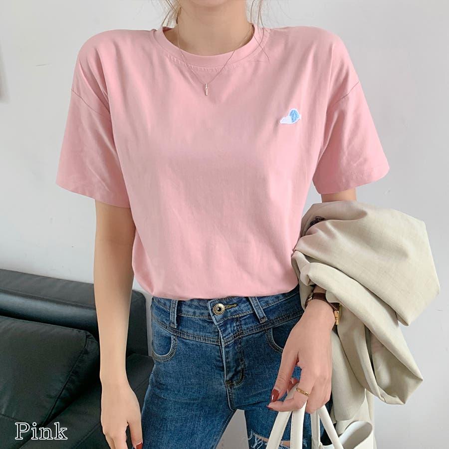 【girlydoll】ワッペンTシャツ【2020春夏商品】 87