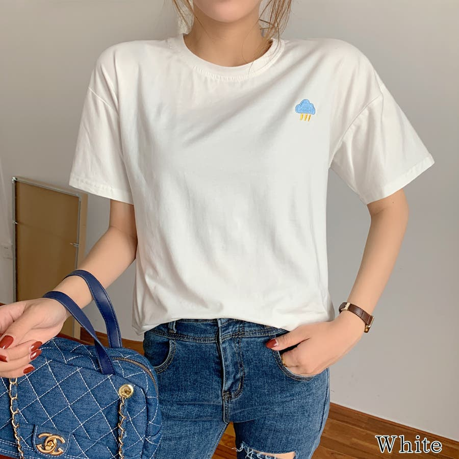 【girlydoll】ワッペンTシャツ【2020春夏商品】 16