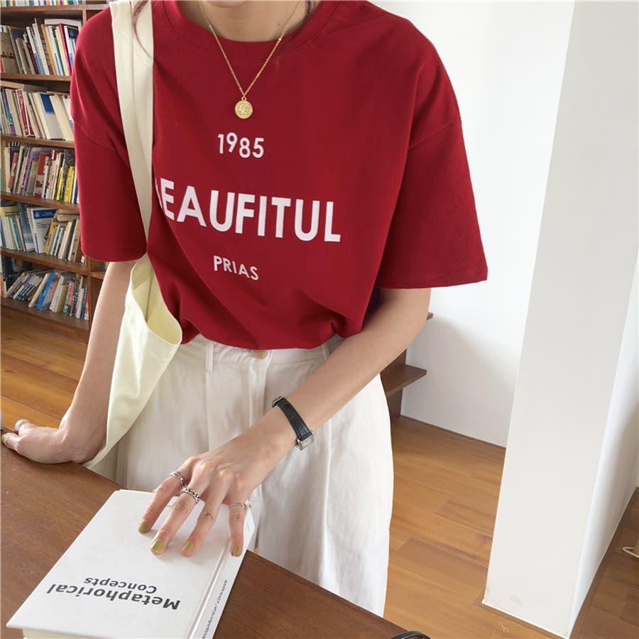 ロゴTシャツ 3
