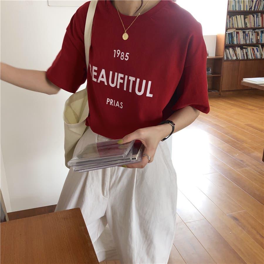 ロゴTシャツ 5