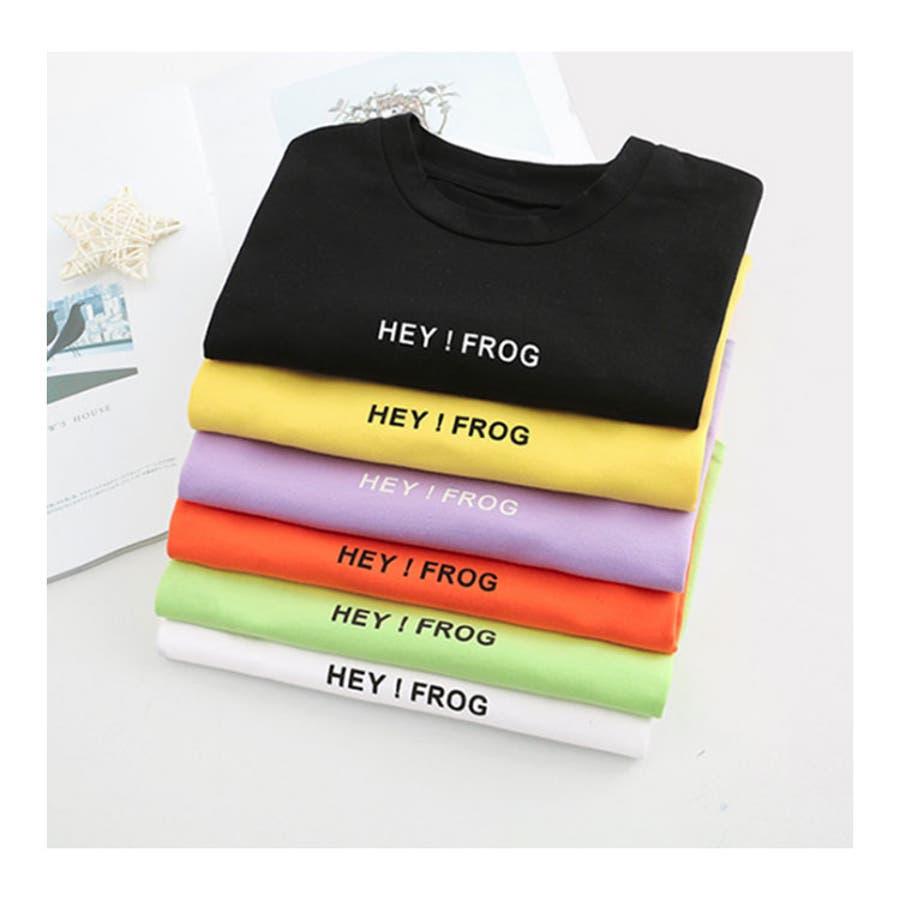 ソリッドカラー 半袖Tシャツ 子供服 キッズ 夏 ユニセックス 全6色 2