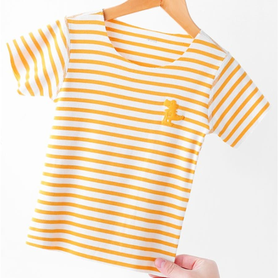 全6色キッズシームレス半袖Tシャツ キッズ ユニセックス  伸縮 速乾性 子供服 ソリッドカラー 6