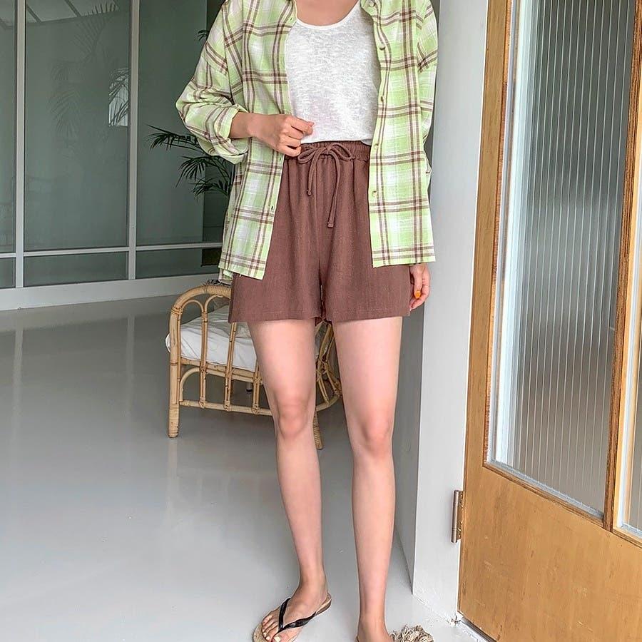 [ENVYLOOK]ボクシーチェックシャツ★韓国ファッション/カジュアル/デイリールック/フェミニンルック/オルチャンファッション/プチプラ/ストリート 2