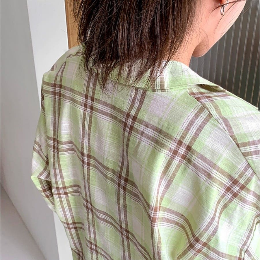 [ENVYLOOK]ボクシーチェックシャツ★韓国ファッション/カジュアル/デイリールック/フェミニンルック/オルチャンファッション/プチプラ/ストリート 8