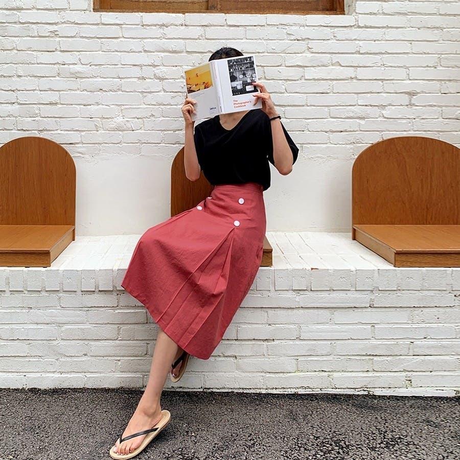 [ENVYLOOK]バックネックストラップ半袖Tシャツ★韓国ファッション/カジュアル/デイリールック/フェミニンルック/オルチャンファッション/プチプラ/ストリート 2