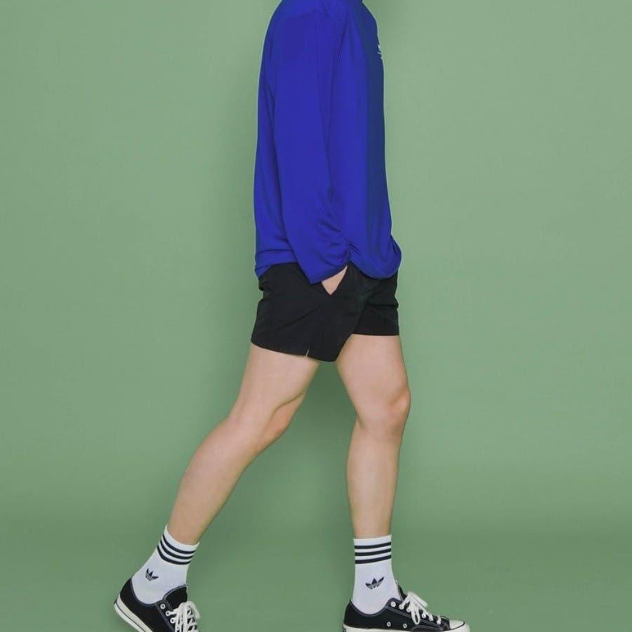 [ENVYLOOK][HB]シンプルサイドスリットスイムショートパンツ★韓国ファッション/カジュアル/デイリールック/フェミニンルック/オルチャンファッション/プチプラ/ストリート 2