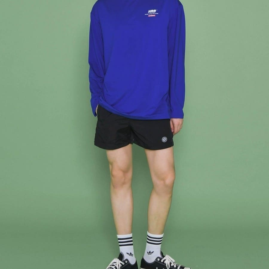 [ENVYLOOK][HB]シンプルサイドスリットスイムショートパンツ★韓国ファッション/カジュアル/デイリールック/フェミニンルック/オルチャンファッション/プチプラ/ストリート 5