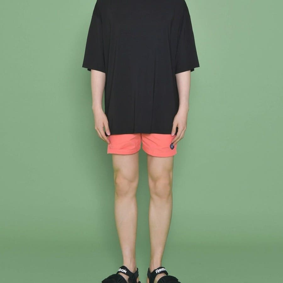 [ENVYLOOK][HB]シンプルサイドスリットスイムショートパンツ★韓国ファッション/カジュアル/デイリールック/フェミニンルック/オルチャンファッション/プチプラ/ストリート 93