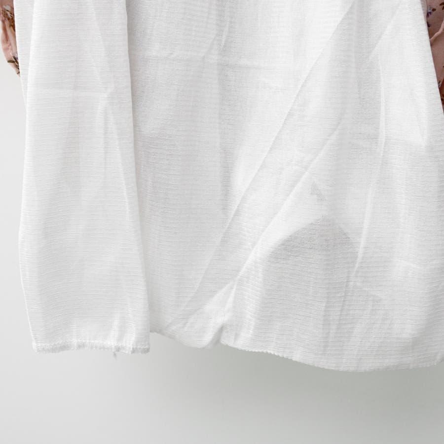 タイネックプリーツミックス花柄ワンピース★韓国ファッション/カジュアル/デイリールック/フェミニンルック/オルチャンファッション 8