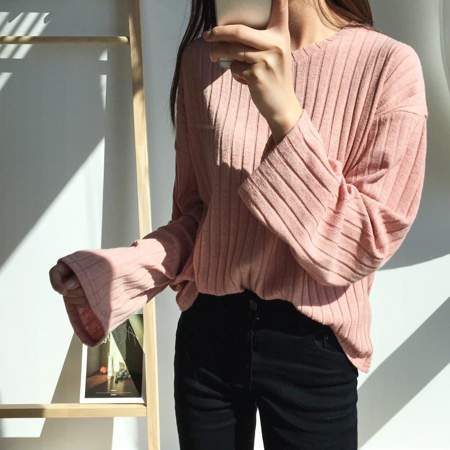 ボールドリブニット★韓国ファッション/カジュアル/デイリールック/フェミニンルック/オルチャンファッション 87