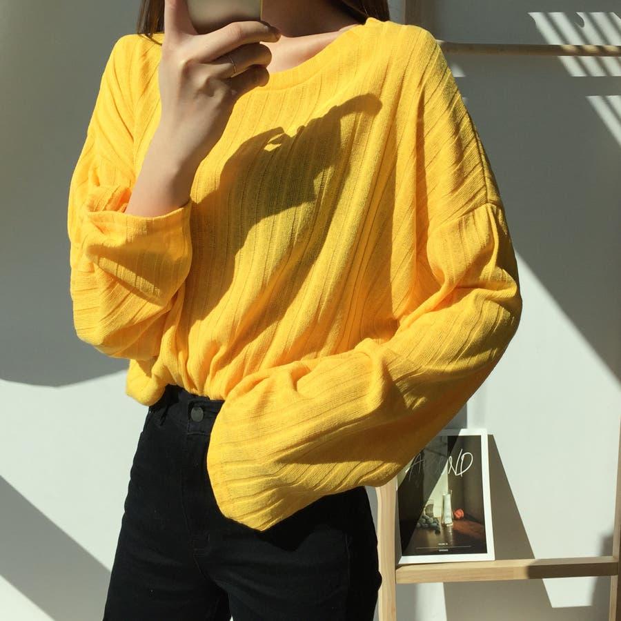 ボールドリブニット★韓国ファッション/カジュアル/デイリールック/フェミニンルック/オルチャンファッション 83