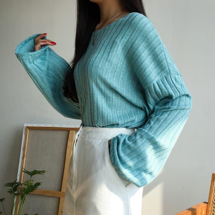 ボールドリブニット★韓国ファッション/カジュアル/デイリールック/フェミニンルック/オルチャンファッション 3