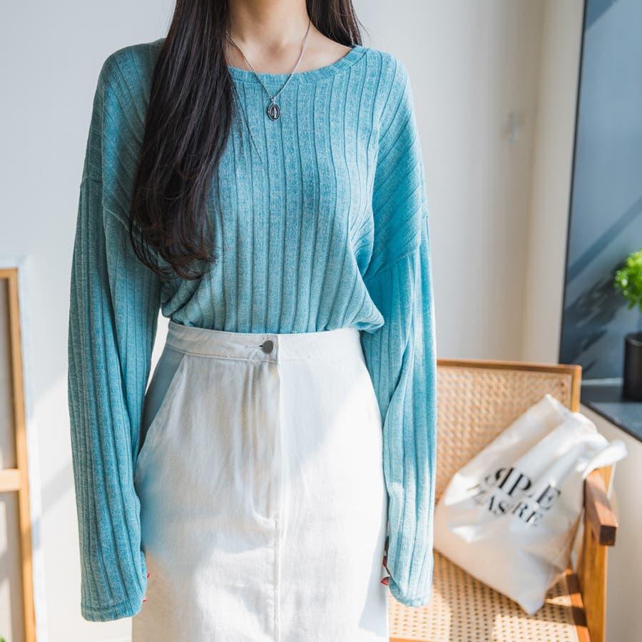 ボールドリブニット★韓国ファッション/カジュアル/デイリールック/フェミニンルック/オルチャンファッション 50
