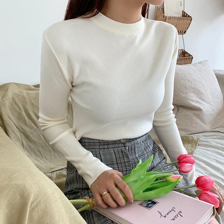 デイリーソフトベーシックニット★韓国ファッション/カジュアル/デイリールック/フェミニンルック/オルチャンファッション 18