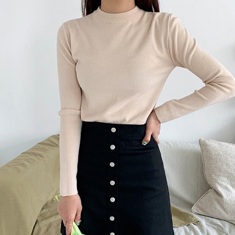デイリーソフトベーシックニット★韓国ファッション/カジュアル/デイリールック/フェミニンルック/オルチャンファッション 42