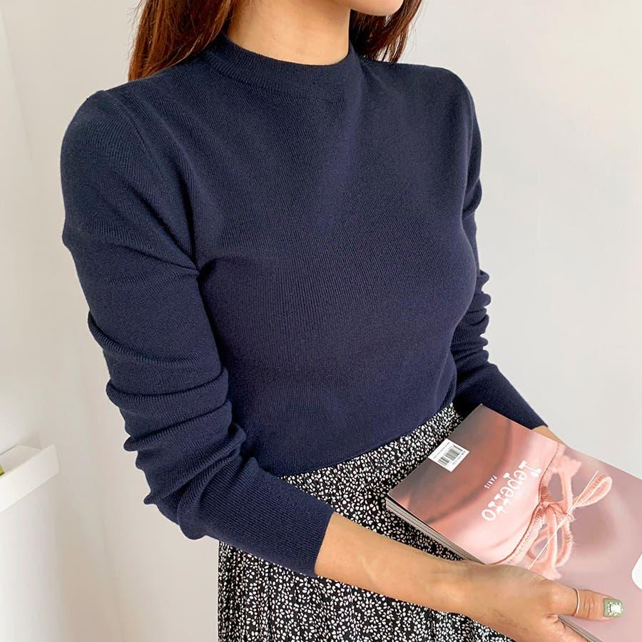 デイリーソフトベーシックニット★韓国ファッション/カジュアル/デイリールック/フェミニンルック/オルチャンファッション 70