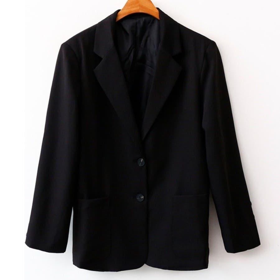 [ENVYLOOK]肩パッド付きツーボタンシングルテーラードジャケット★韓国ファッション/カジュアル/デイリールック/フェミニンルック/オルチャンファッション/プチプラ/ストリート 21