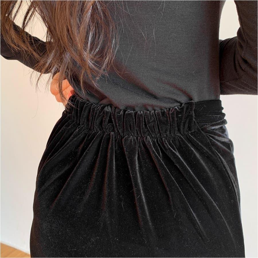 フロントシャーリングハイネックTシャツ★韓国ファッション/カジュアル/デイリールック/フェミニンルック/オルチャンファッション 2