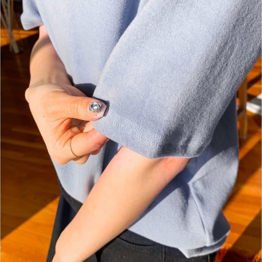 デイリーベーシック半袖ハイネックTシャツ★韓国ファッション/カジュアル/デイリールック/フェミニンルック/オルチャンファッション 5