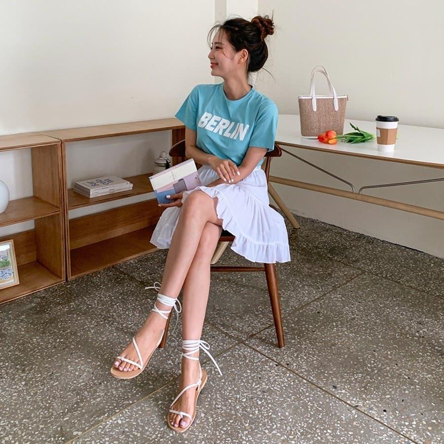 [ENVYLOOK]フリル裾ティアードミニスカート★韓国ファッション/カジュアル/デイリールック/フェミニンルック/オルチャンファッション/プチプラ/ストリート 6