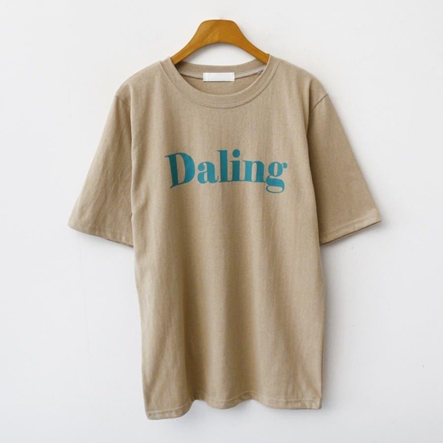 [ENVYLOOK]バストビッグロゴラウンド半袖Tシャツ★韓国ファッション/カジュアル/デイリールック/フェミニンルック/オルチャンファッション/プチプラ/ストリート 41