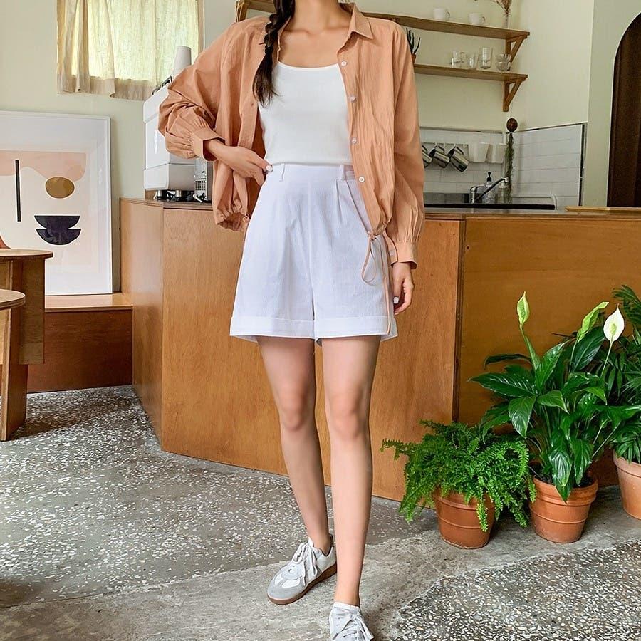 [ENVYLOOK]裾ストリングラグランバルーン袖シャツ★韓国ファッション/カジュアル/デイリールック/フェミニンルック/オルチャンファッション/プチプラ/ストリート 6