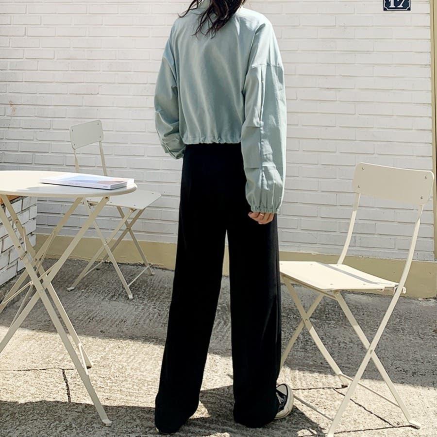 [ENVYLOOK]リネン混ストリング裾ショートジャケット★韓国ファッション/カジュアル/デイリールック/フェミニンルック/オルチャンファッション/プチプラ/ストリート 8