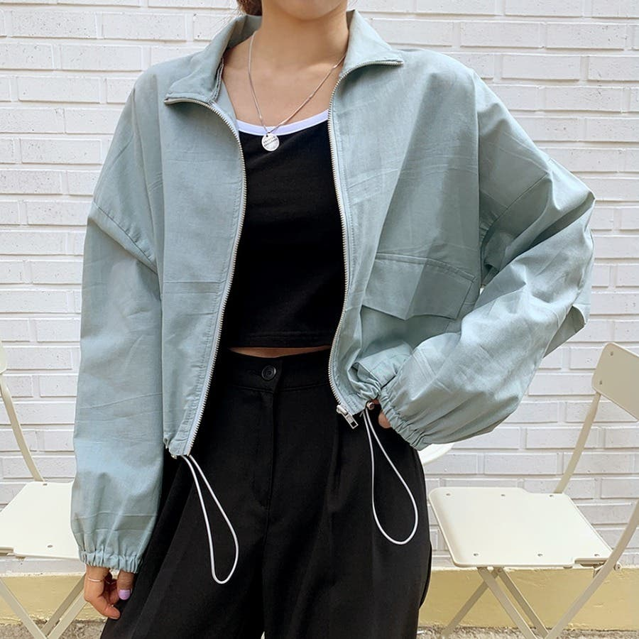 [ENVYLOOK]リネン混ストリング裾ショートジャケット★韓国ファッション/カジュアル/デイリールック/フェミニンルック/オルチャンファッション/プチプラ/ストリート 50