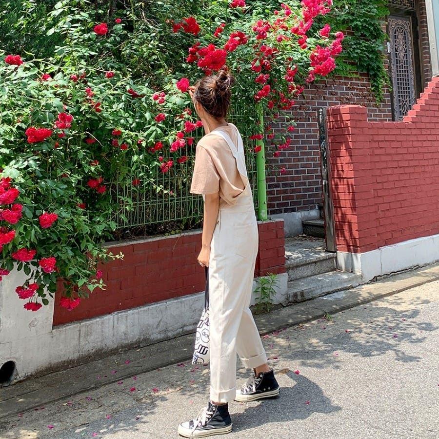 [ENVYLOOK]ノンストレッチコットンオーバーオール★韓国ファッション/カジュアル/デイリールック/フェミニンルック/オルチャンファッション/プチプラ/ストリート 3
