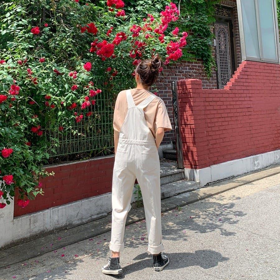 [ENVYLOOK]ノンストレッチコットンオーバーオール★韓国ファッション/カジュアル/デイリールック/フェミニンルック/オルチャンファッション/プチプラ/ストリート 4