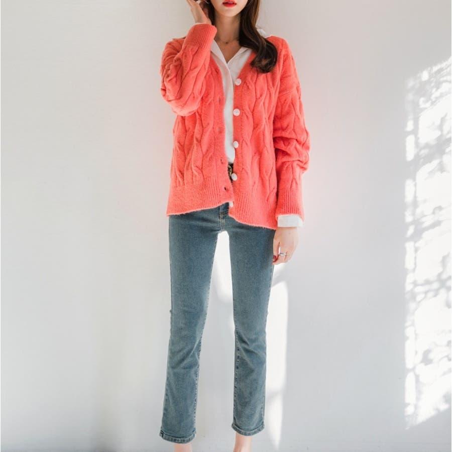 四方ストレッチデニムパンツ★韓国ファッション/カジュアル/デイリールック/フェミニンルック/オルチャンファッション 7
