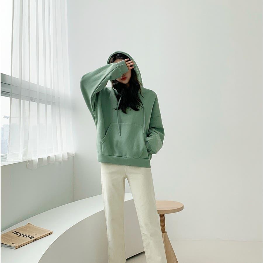 ラクラクストレートコーデュロイパンツ★韓国ファッション/カジュアル/デイリールック/フェミニンルック/オルチャンファッション 5