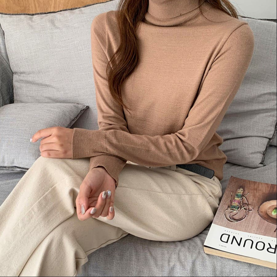[3オプション]デイリーソフト絞りデザインニット★韓国ファッション/カジュアル/デイリールック/フェミニンルック/オルチャンファッション 41
