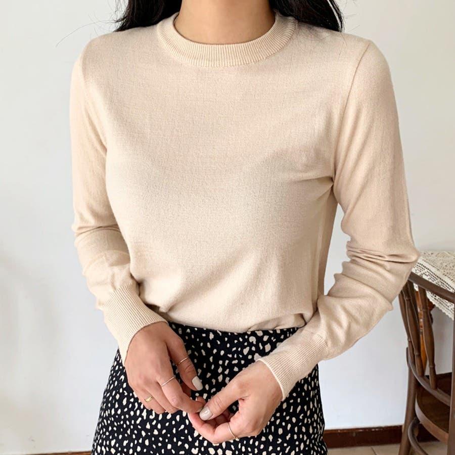 [3オプション]デイリーソフト絞りデザインニット★韓国ファッション/カジュアル/デイリールック/フェミニンルック/オルチャンファッション 42