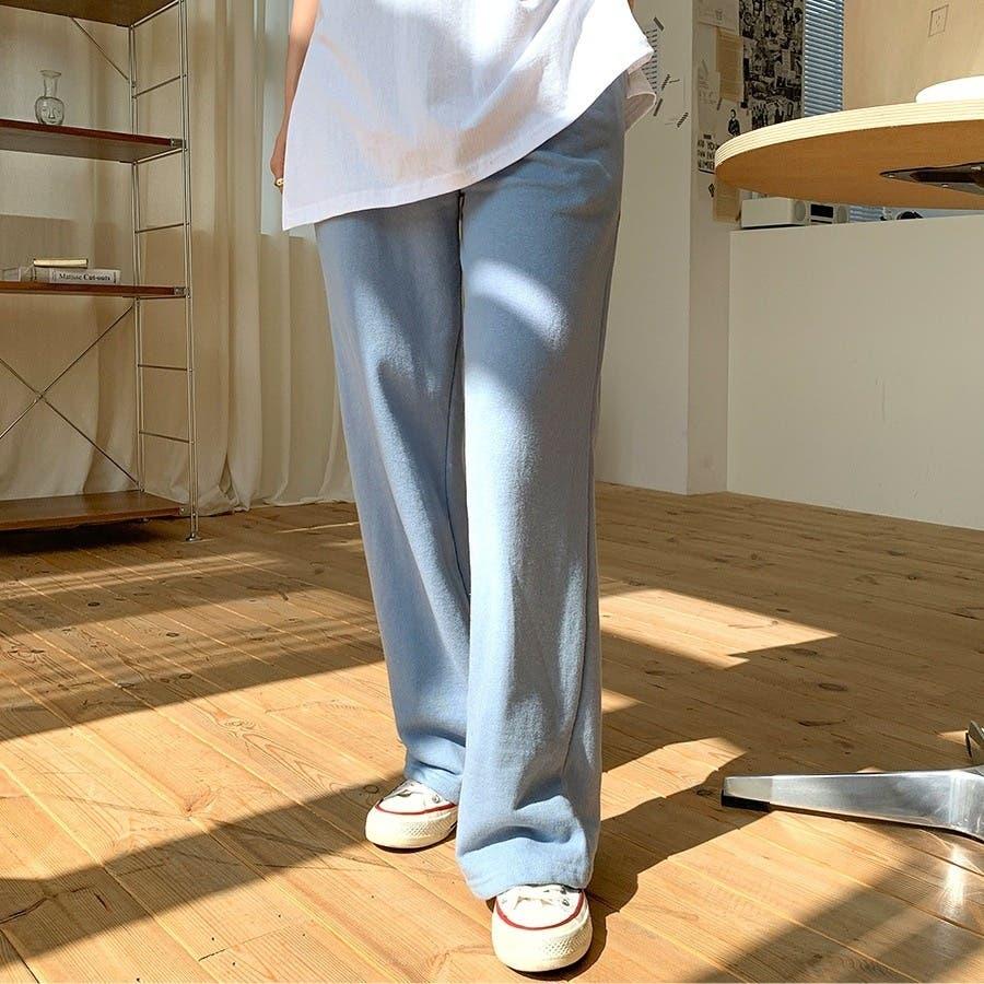 [ENVYLOOK]ウエストゴムリラックスコットンワイドパンツ★韓国ファッション/カジュアル/デイリールック/フェミニンルック/オルチャンファッション/プチプラ/ストリート 62