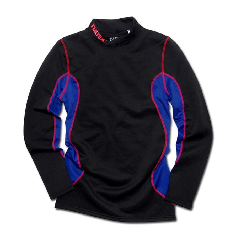 お悩み解消優秀アイテム メンズファッション通販TULTEX タルテックス コンプレッション インナー 長袖 Tシャツ 裏起毛 吸汗速乾 機能素材 スポーツウェア ジムウェアランニング ウォーキング ウェア 理合