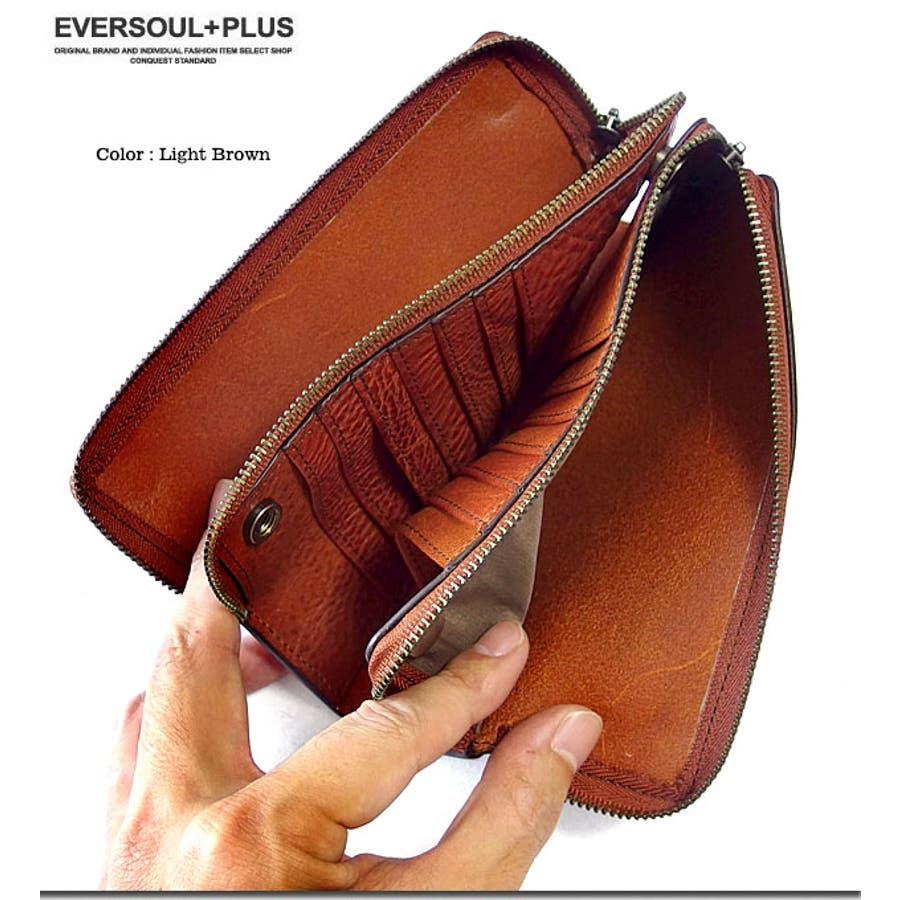 財布 レザー 本革 4