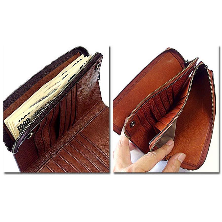 財布 レザー 本革 8