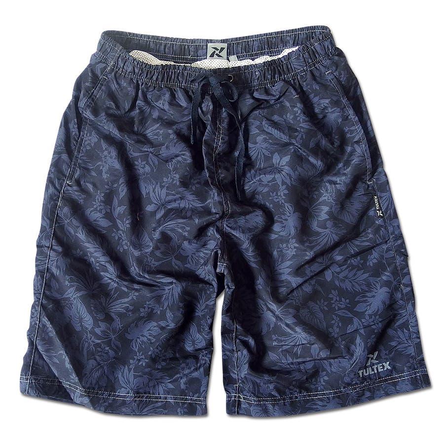 海水パンツ 海パン スイムウェア 水着 男性用 メンズ トランクス おしゃれ 大きいサイズ サーフパンツ TULTEX 派手 総柄 プリント 76