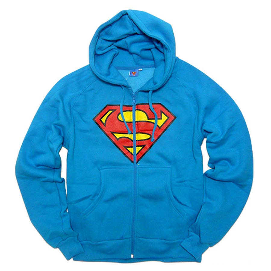 最高に今年っぽい メンズファッション通販スーパーマン パーカー グッズ メンズ:スーパーマン×ミニットマースのアメコミスーパーマークプリントコラボ裏起毛パーカー! SUPER MAN 大きいサイズ キングサイズ 場末