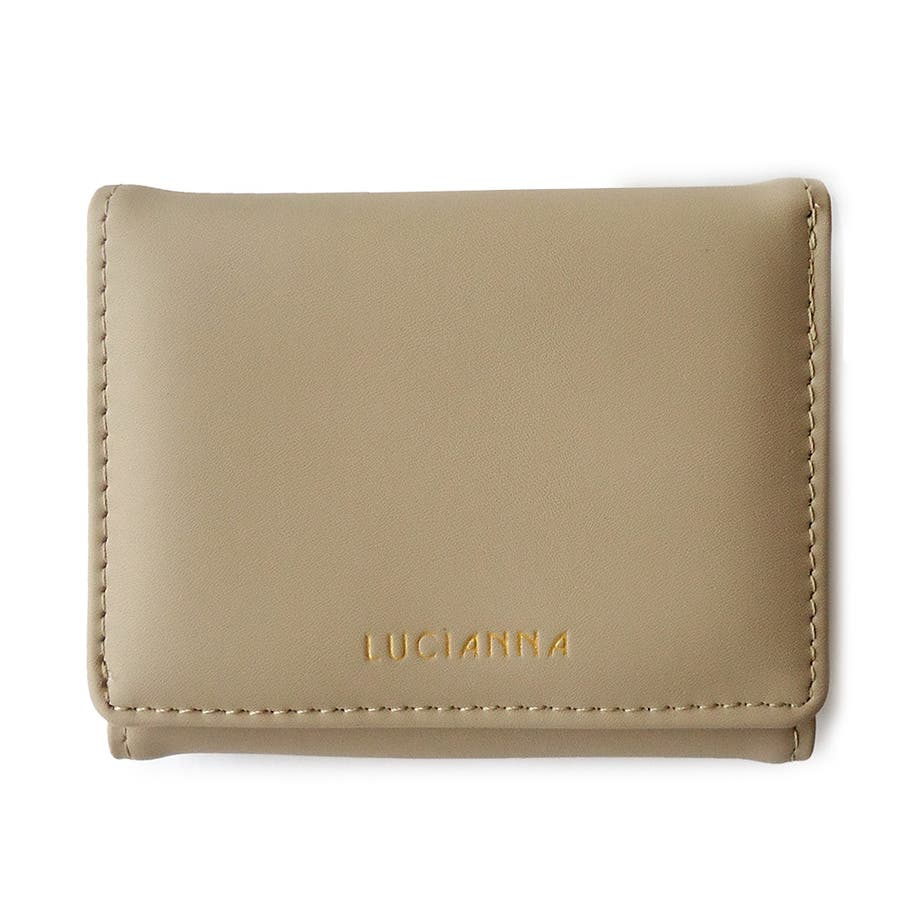 「三つ折り財布 コンパクト」極小財布 小さい財布 110