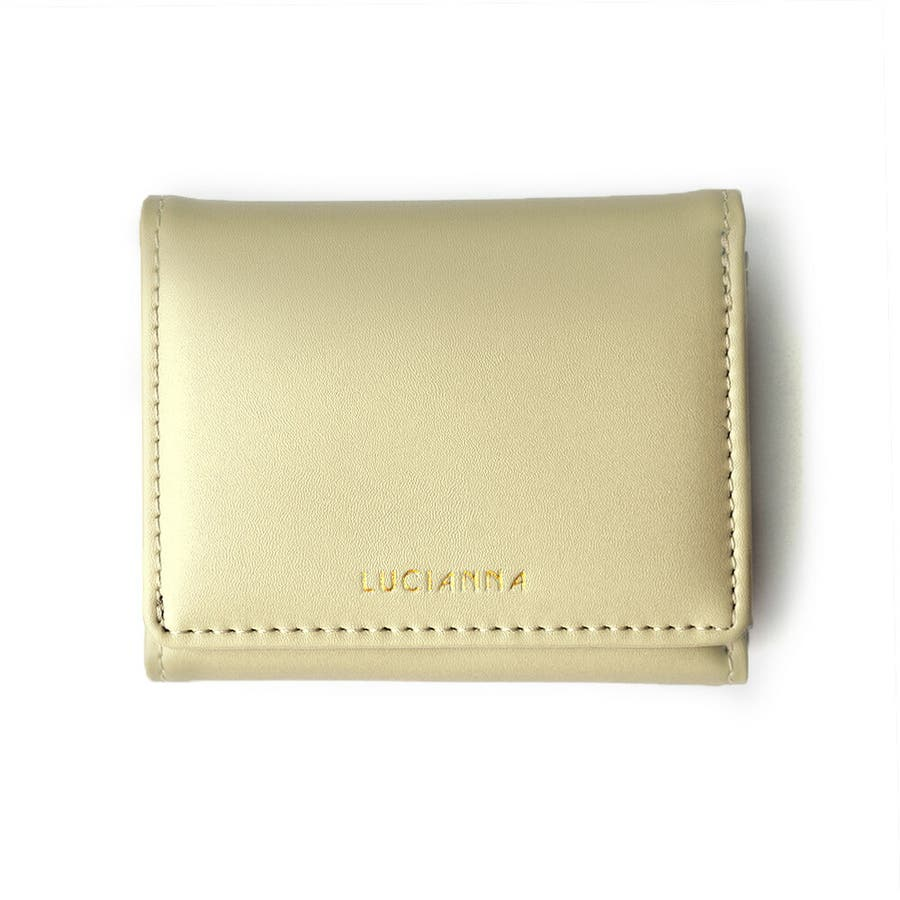 「三つ折り財布 コンパクト」極小財布 小さい財布 18