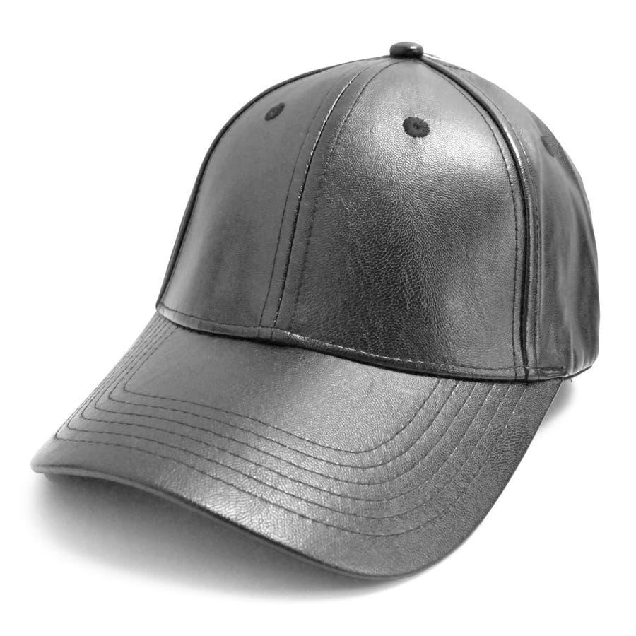 PUレザーキャップ 帽子 野球帽 ベースボールキャップ 原宿 シルバー ブラック 春 夏 サイズ調整可 キャップコーデ レディース メンズ ユニセックス 男女兼用 アメカジ 韓国ファッション K-POP オルチャン 海外セレブ PUレザー 合皮  2